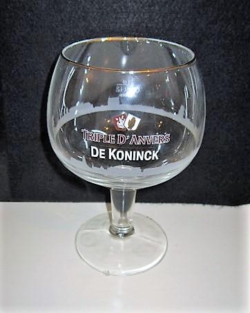 De Koninck Beer Glass